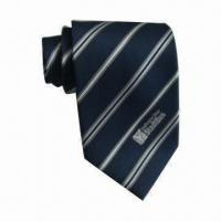 Best 100% Polyester Necktie with Logo wholesale