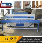 Best Door making PVC foil Vacuum press machine price wholesale