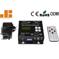 China SD Card Type DMX512 Master Controller Offline Buttons / Remote Control Mode on sale