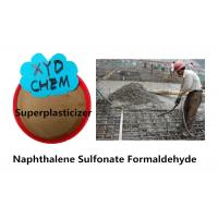 Best Construction Additives Naphthalene Sulfonate Formaldehyde / Naphthalene Superplasticizer wholesale