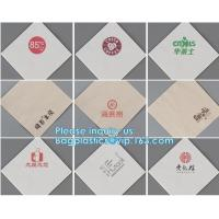 China 25pcs per pack 3ply Paper Napkins Rose Gold Foil Dots Designs Perfect for Birthday baby shower tableware decorations on sale