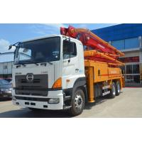 Best 36Z Meter Industrial Concrete Boom Pump Truck With Hino700 Chassis wholesale