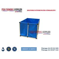 Best 2000L Flexible Square 5000L Fish Farming Tank Indoor and Out Door Using Water Storage Tank wholesale