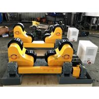 China 10 Ton Driving Inverter Control Pipe Rotators For Welding , Long Life Time on sale