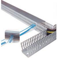 Cheap Durable Self adhesive plastic cable duct , wire duct, cable trays, cable cover for sale
