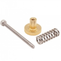 Best Golden 15mm X 12mm Heatbed Ultimaker2 M3 Knurled Nut Leveling Fixing Nut wholesale
