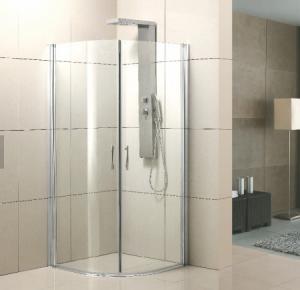 Best Durable Aluminum Shower Enclosure , Aluminium Shower Doors Polished Surface wholesale