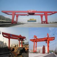 Best Rail type container gantry crane quayside container crane, 50 t double girder gantry crane wholesale