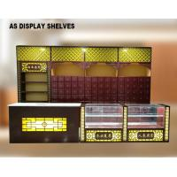 Best Chinese Style Pharmacy Display Shelves Medical Shop Racks With Light Box wholesale