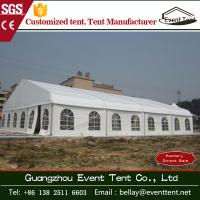 Best Wedding / Event Marquee Curved Trade Show Tent 20 * 30m Hot - Dip Galvanized Steel wholesale