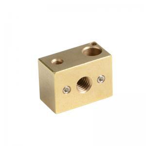 Best M3 16mm*22mm*12mm High Temperature Copper Heat Block E3D Heat Block wholesale