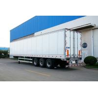 Best Truck Refrigerated Tractor Trailer Reefer Custom Cargo Trailers High Wall Thickness wholesale