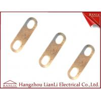 Cheap Copper / Bronze Cable Earth Link For Cable Tray Laddle Trunking 72mm 89mm Length for sale