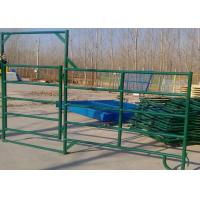 Best Multi Size Cattle Corral Panels Oval Tube 40X80MM Pipe For Livestock Farm wholesale