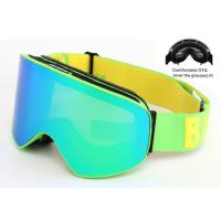 Best Interchangeable Lens Multi Coloured Ski Goggles Anti - Winds With Good Protection wholesale
