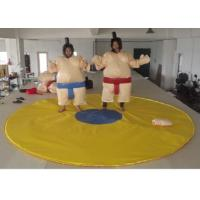 Best Outdoor Interactive Inflatable Sumo Suits High Durability PVC Tarpaulin Tear Proof wholesale