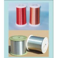 Cheap 0.025mm - 4.0mm Silver Magnet Enameled Aluminum Wire For Generators / Transformers for sale