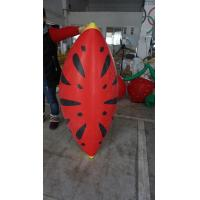 Buy cheap Personalised Fruit Shaped Balloons , 1.2m Long Inflatable Watermelon Slicer from wholesalers