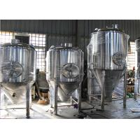 Best Mini Automatic Ss Conical Beer Fermenter 2mm - 5mm Thickness wholesale
