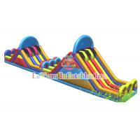 Best Customize Inflatable Interactive Games / Large Water Slide Fire Resistant wholesale