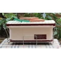 Best Portable BBQ Ceramic Cooker Grill , Mini Clay Ceramic Outdoor Grill Custom Made wholesale