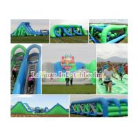 Best Commercial Insane Inflatable 5K Obstacle Course For Corporate Event wholesale