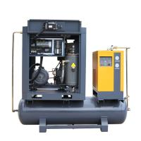 Best Airhorse hot sale 11kw screw type air compressor with 300L receiver and air dryer wholesale