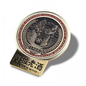 China OEM Antique Pin Badge / Button Lapel Pin For Souvenir Variform Size Optional on sale
