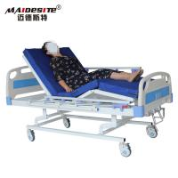 Best Three Function Comfortable Manual Hospital Bed For Elderly And Patient People wholesale