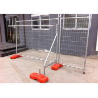 Best Temporary Fencing Panels OD 40mm tube wall thick 1.50mm mesh 60mm*150mm diameter 4.00mm wholesale