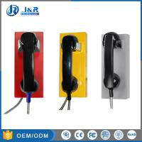 Best Auto Dial Vandal Resistant Telephone , VoIP Emergency Phone With PoE Powered wholesale