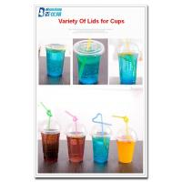 Quality personalized plastic cups with straws wholesale