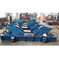 Buy cheap Hydraulic Fit Up Rotator 160Ton Wind Tower Growing line Move on Rails from wholesalers