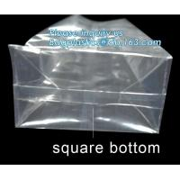 Best Small Cello Party Transparent Plastic Food Customized opp square block bottom bags for candy packing,bottom opp plastic wholesale