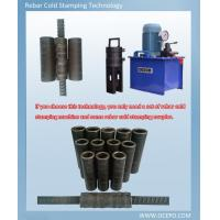 OCEPO Cold stamping rebar coupler 16-40mm Use Q435B as raw material