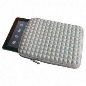 Best 2012 Cheap Diamond Sleeve for iPad, Heavy-duty customized Zipper Pulls with Closed-seam Construction wholesale