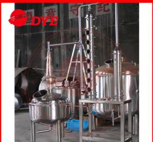 Best 5BBL Custom Steam Distillation Apparatus , Ethanol Distillation Column wholesale