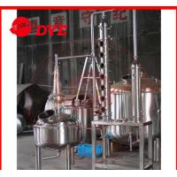 Best Professional Steam Distillation Apparatus With Copper Dome / Helmet wholesale
