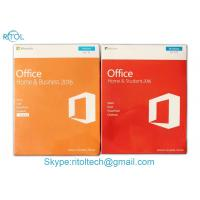 Best Microsoft Office Home And Business 2016 FPP , Microsoft Office Home & Business 2016 Retail Key Genuine Sealed Box wholesale