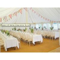 Best Hard Pressed Extruded Aluminum Alloy High Peak Wedding Event Tents For Party And Events wholesale