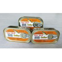 Best Factory price Canned sardine fish in vegetable oil wholesale
