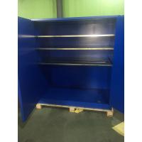 Best 90 Gallon Venting Flammable Cabinets , Pesticide Storage Cabinets For Corrosive Liquids wholesale
