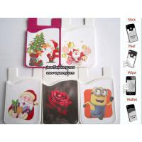 Best New promotion product custom made full color silicone smart wallet with low MOQ wholesale