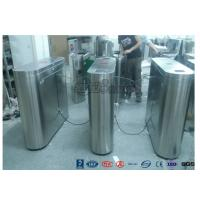 Best Indoor / Outdoor Flap Barrier Turnstile Waist Height Turnstile Sliding High Speed wholesale