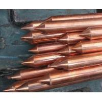 Best 18mm Good conductivity Copper Coated Ground Rod , house earth rods wholesale