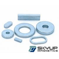 NdFeB magnets coated with Zn used in Electronics.motors ,generators.produced by
