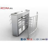 Best Security Half Height Turnstiles High Transit Speed Access Control System wholesale
