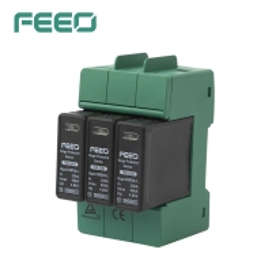 Best FSP-D40 3P 1000V DC lightning protection 40KA photovoltaics surge protector wholesale