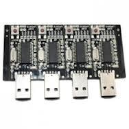 Best blue / yellow / black FR-4, CEM-1, CEM-3 30 layer PCB Circuit Board Assembly Service wholesale