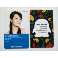 China Tencent Custom Photo ID Cards with Electrical IC Card Function on sale